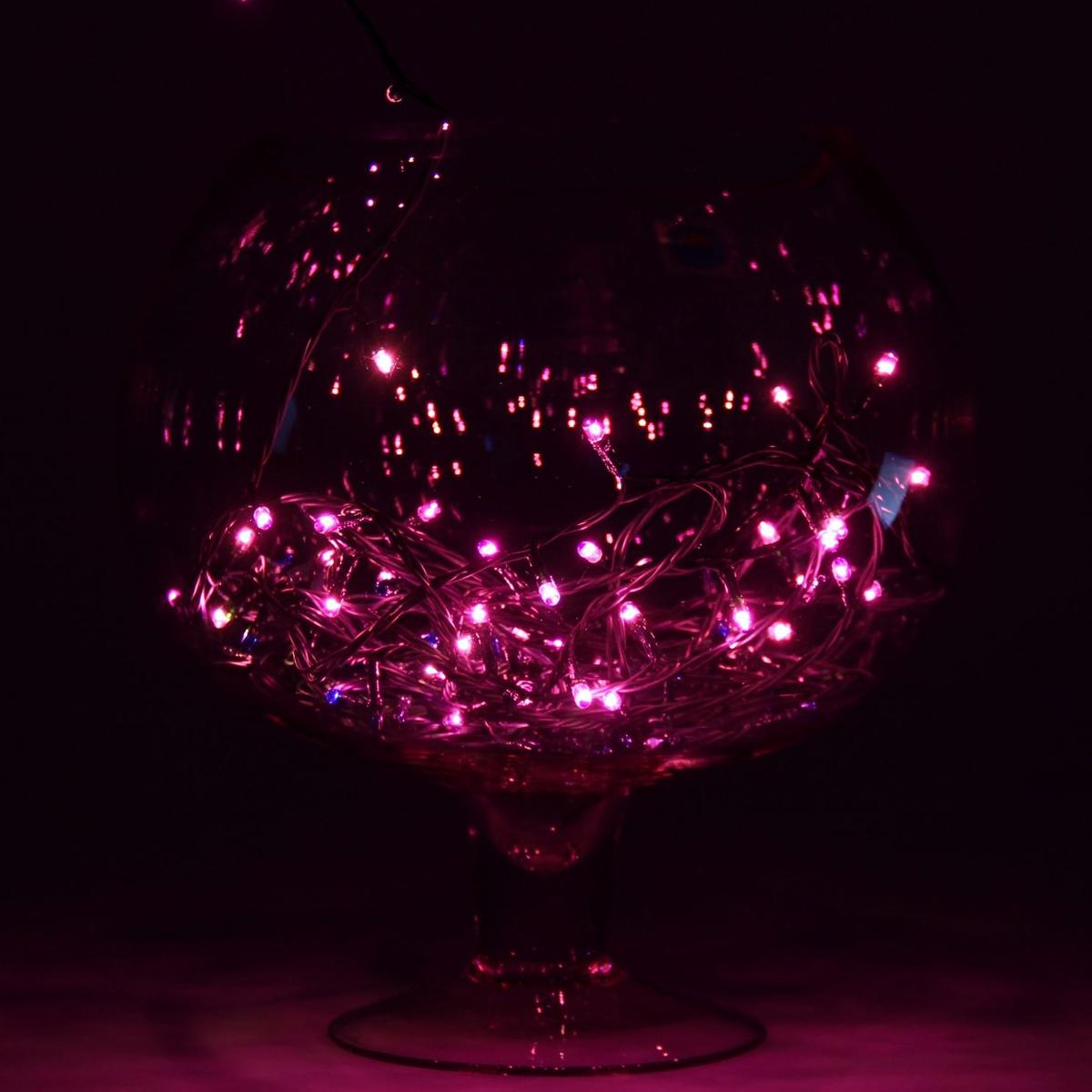 Гирлянда светодиодная Luazon Метраж, цвет: фиолетовый, 100 ламп, 8 режимов, 220 V, длина 4,5 м187155Светодиодные гирлянды и ленты — это отличный вариант для новогоднего оформления интерьера или фасада. С их помощью помещение любого размера можно превратить в праздничный зал, а внешние элементы зданий, украшенные ими, мгновенно станут напоминать очертания сказочного дворца. Такие украшения создают ауру предвкушения чуда. Деревья, фасады, витрины, окна и арки будто специально созданы, чтобы вы украсили их светящимися нитями.