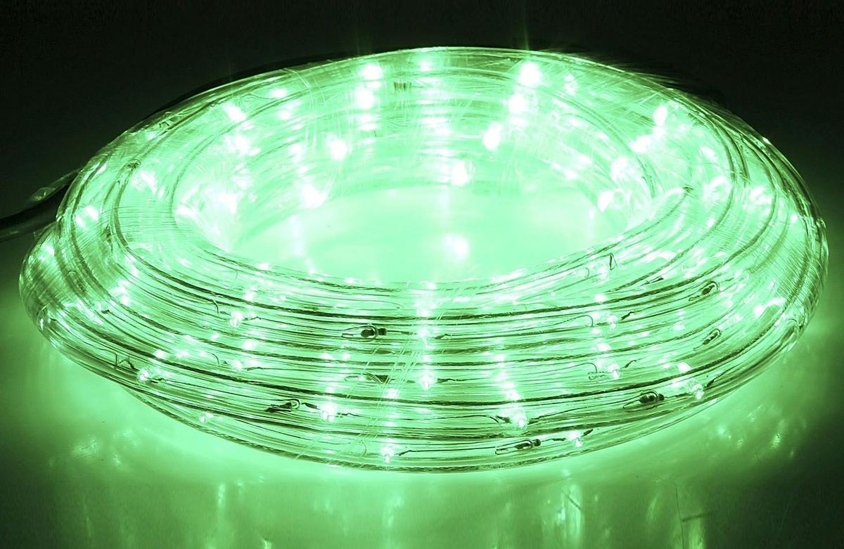 Гирлянда светодиодная  Luazon , 440 ламп, 8 режимов, 220 V, цвет: зеленый, 1,3 см х 20 м. 678002 -  Гирлянды и светильники
