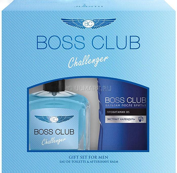 Boss Club Парфюмированный набор: Challenger Туалетная вода, 100 мл + Бальзам после бритья, 150 мл