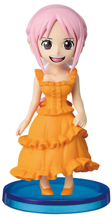 Bandai Фигурка One Piece WCF Dressrosa 4 Rebecca bandai фигурка minecraft mine charact box villager 4 см