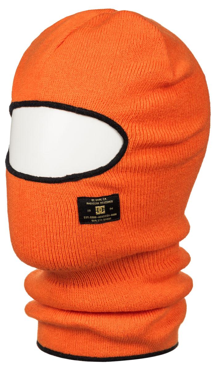 Балаклава мужская DC Shoes, цвет: оранжевый. EDYAA03092-NLS0. Размер универсальныйEDYAA03092-NLS0Балаклава DC Shoes выполнена из акрила. Оформлена нашивкой с логотипом бренда.