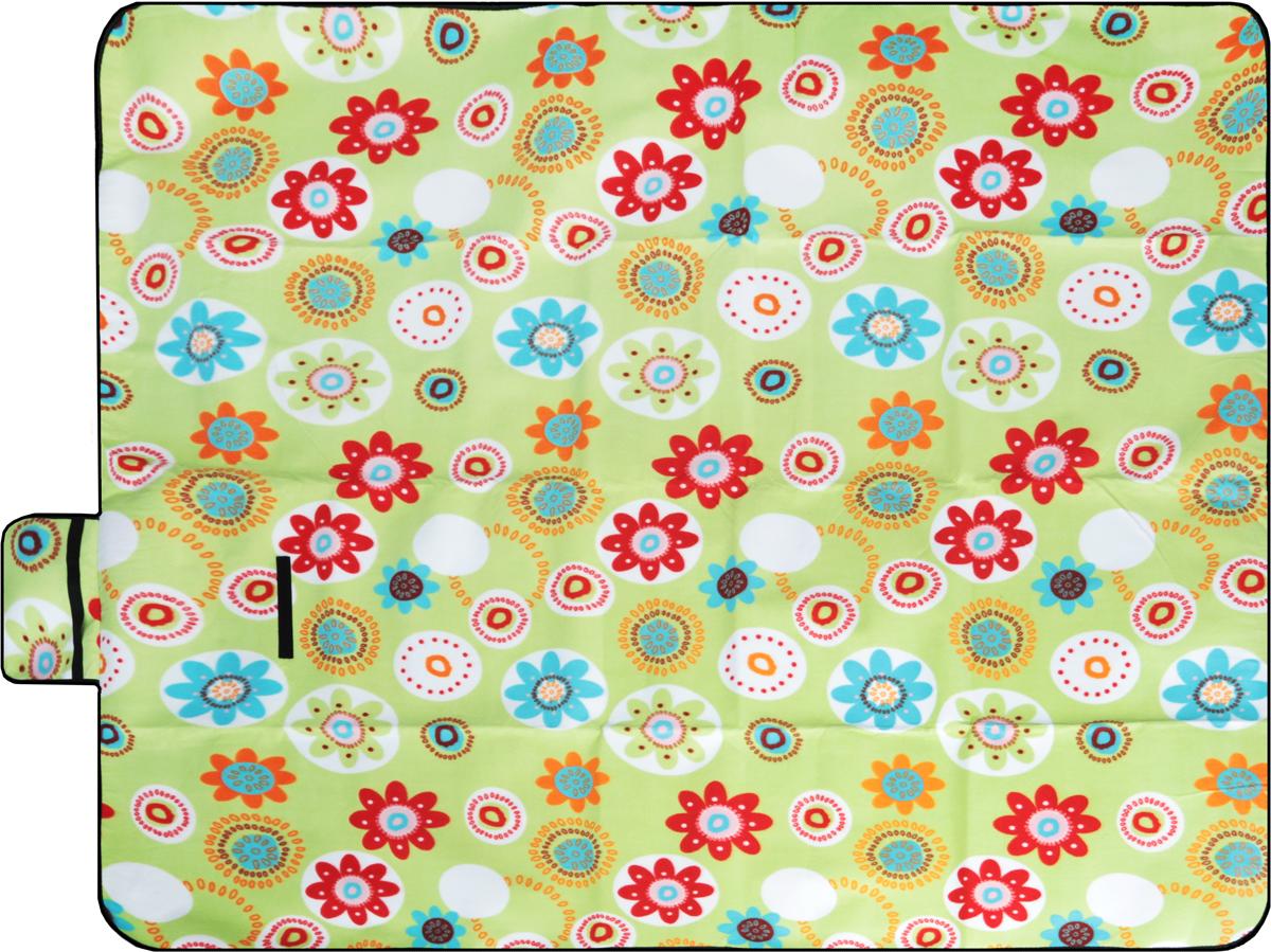 Коврик для пикника Wildman  Мильфлер. Круги , цвет: салатовый, 150 х 200 см - Подушки, пледы, коврики