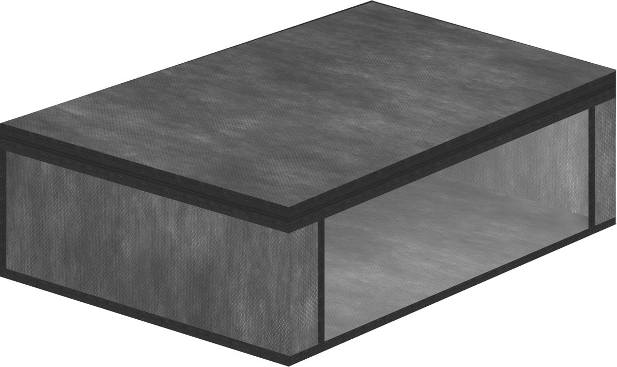 Чехол для хранения одеял Eva, цвет: серый, 60 х 40 х 20 смЕ52_серыйЧехол для хранения одеял Eva изготовлен из полипропилена и ПВХ. Нетканый материал чехла пропускает воздух, что позволяет изделиям дышать, сохраняет от пыли и грязи, обеспечивает удобную транспортировку, защищает от света и насекомых. Это особенно необходимо для изделий из натуральных материалов. Благодаря такому чехлу, вещи не впитывают посторонние запахи. Застегивается на застежку-молнию.Материал: ППР, ПВХ.Размер: 60 х 40 х 20 см.