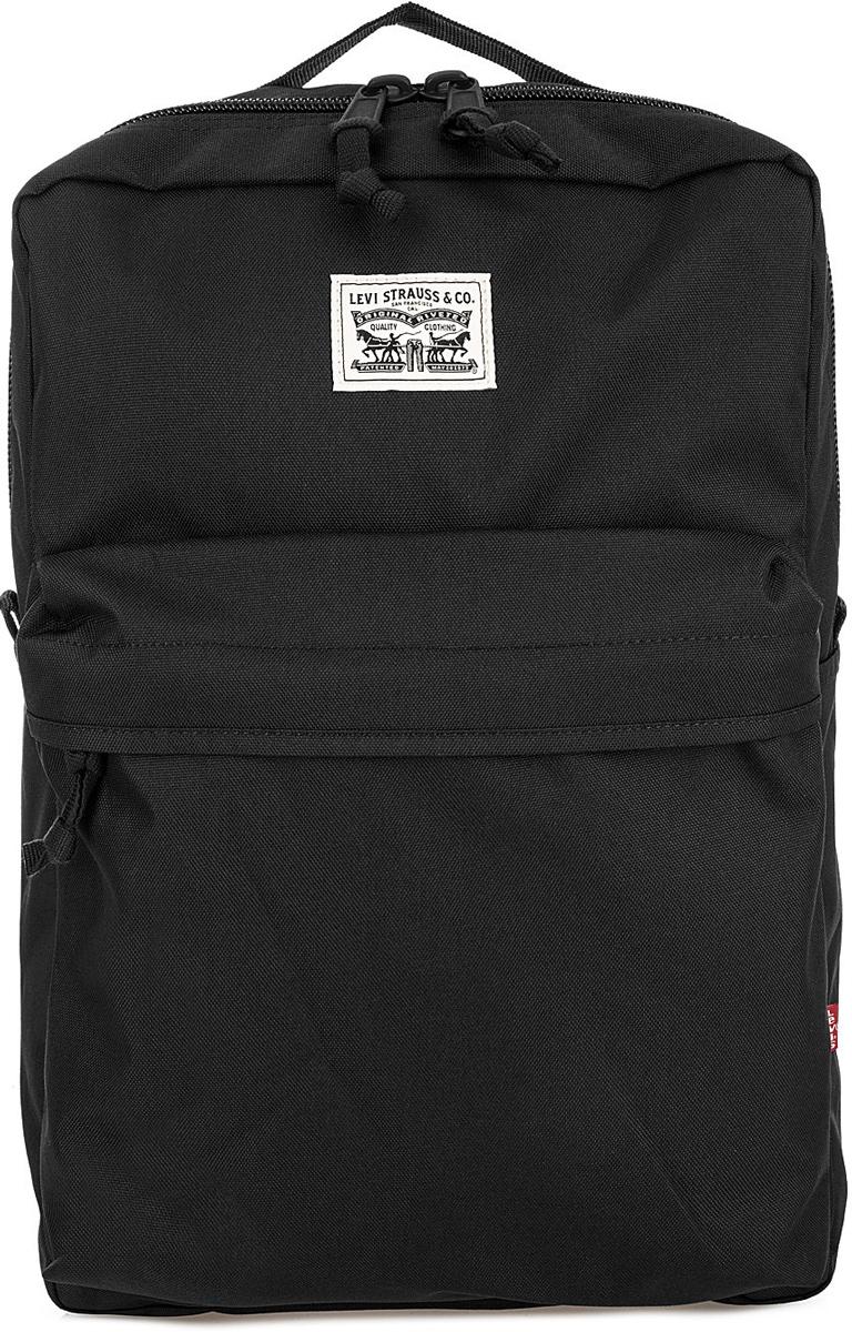 Рюкзак Levi's, цвет: черный. 7717006240 рюкзак juicy сouture рюкзак
