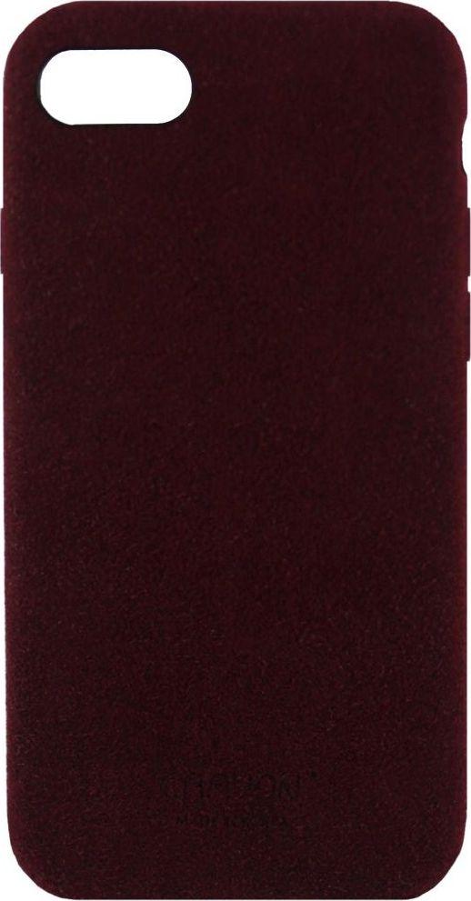 Crayon Generic Slim Case, Burgundy чехол для iPhone 7CRN-GSCSIP7-brgЧехол изготовлен из термопластичного полиуретана (ТПУ) - материала, который не подвержен замерзанию и резким перепадам температур. То есть телефон в чехле из ТПУ не тормозит на морозе. ТПУ не подвержен деформации, устойчив к разрыву и не проводит электрический ток. Чехол из ТПУ не притягивает пыль, устойчив к царапинам и другим механическим повреждениям, обладает противоударными свойствами. Чехол не утолщает устройство, обеспечивая легкий доступ ко всем функциональным клавишам телефона. Внешняя поверхность чехла выполнена из натуральной замши. Необычно, стильно, надежно.