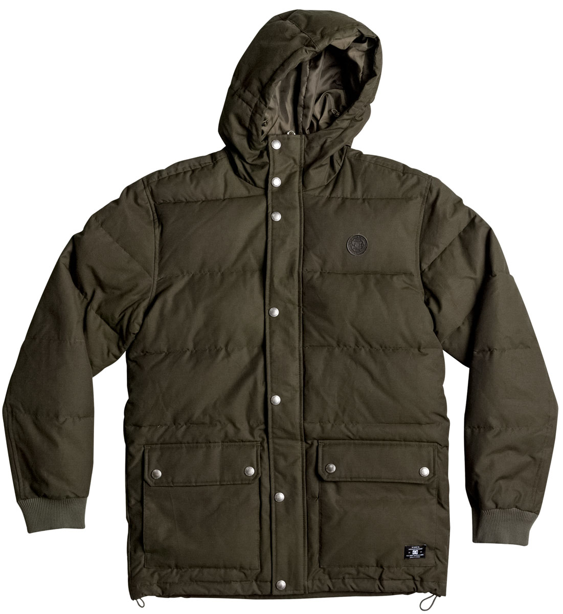 Куртка мужская DC Shoes, цвет: темно-зеленый. EDYJK03124-CSN0. Размер L (50)EDYJK03124-CSN0