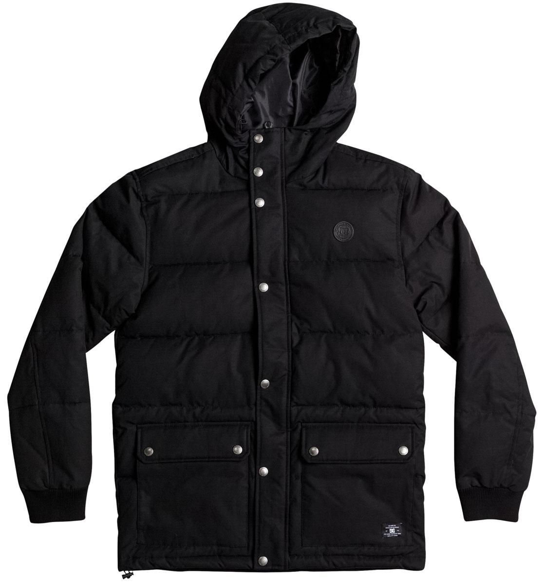 Куртка мужская DC Shoes, цвет: черный. EDYJK03124-KVJ0. Размер M (48)EDYJK03124-KVJ0