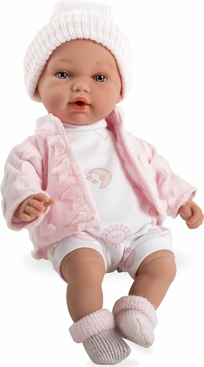 Arias Кукла Elegance в одежде с соской цвет розовый - Куклы и аксессуары