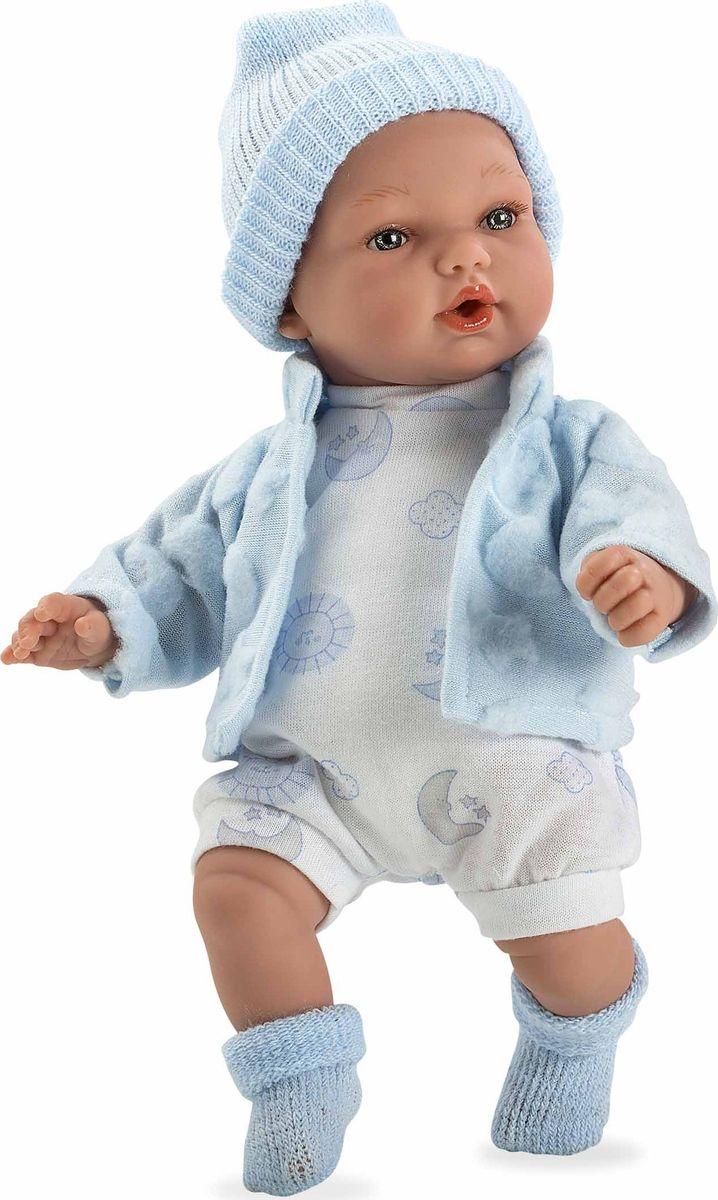Arias Кукла Elegance в одежде с соской цвет голубой Т11083 - Куклы и аксессуары