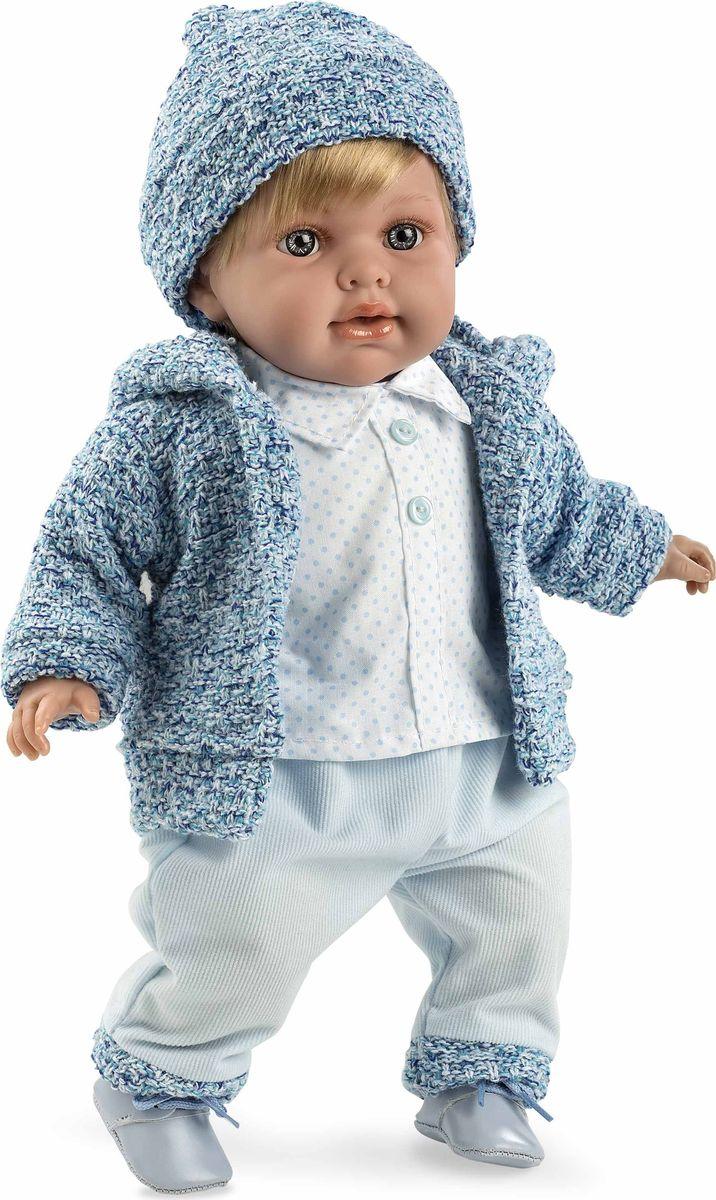 Arias Кукла Elegance с соской цвет одежды голубой gulliver игр мягкая кукла мальчик в голубой рубашке блондин 40см