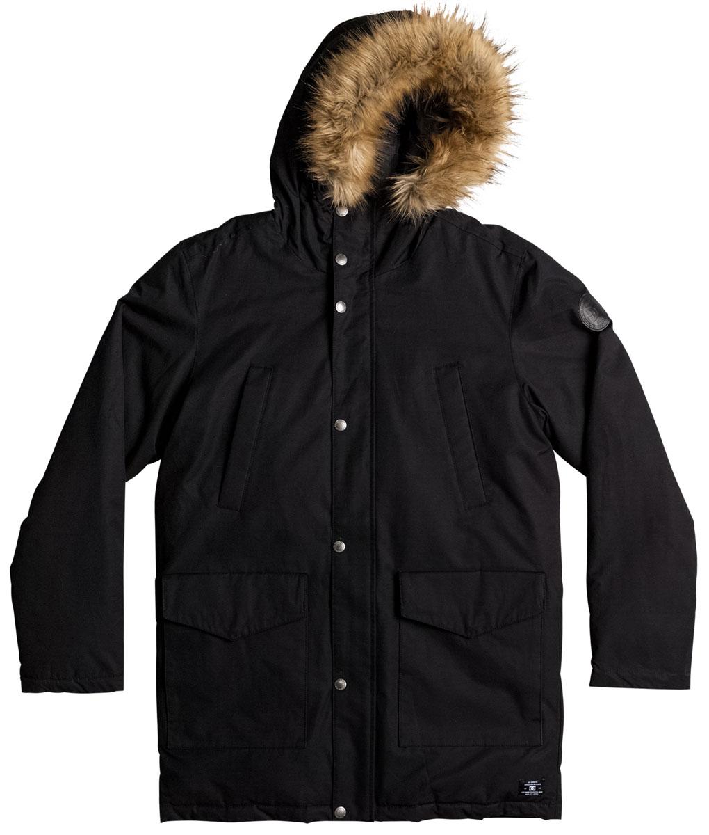 Куртка мужская DC Shoes, цвет: черный. EDYJK03125-KVJ0. Размер XXL (54)EDYJK03125-KVJ0