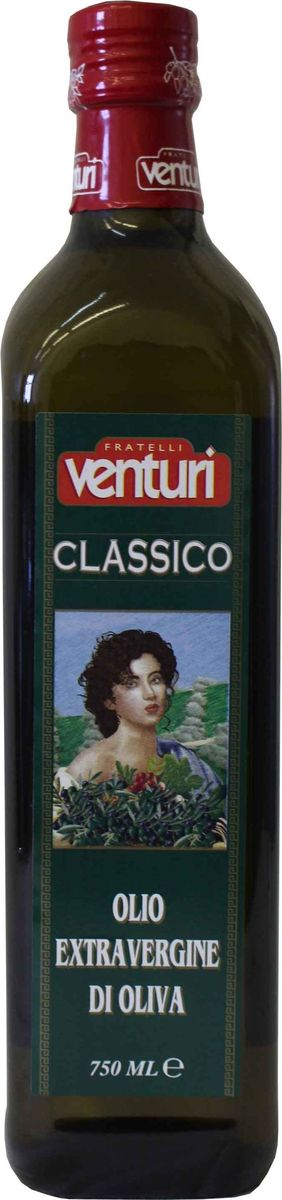 Venturi оливковое масло экстра верджин классико, 750 мл gian marco venturi одежда 81g01