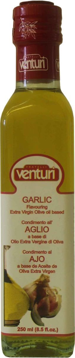 Venturi оливковое масло экстра верджин с ароматом чеснока, 250 мл gian marco venturi одежда 81g01