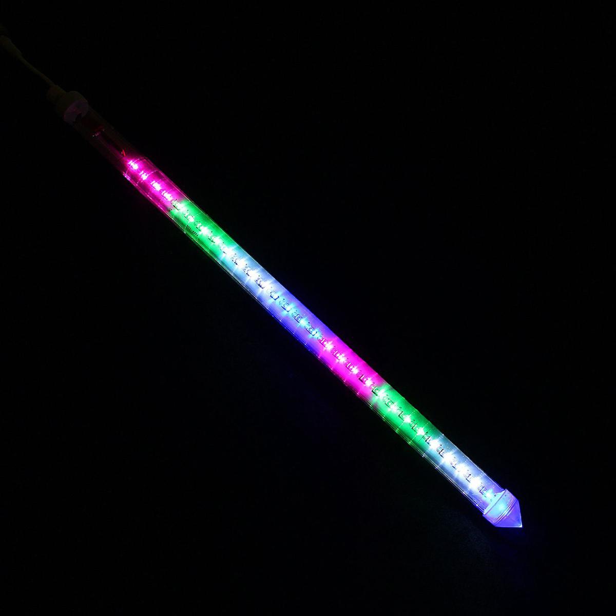 Светодиодная сосулька Luazon Тающая, длина 0,5 м, диаметр 3 см, 2W, LED 30 ламп, 220V, цвет: мультиколор1080718Светодиодные гирлянды, ленты и т.д — это отличный вариант для новогоднего оформления интерьера или фасада. С их помощью помещение любого размера можно превратить в праздничный зал, а внешние элементы зданий, украшенные ими, мгновенно станут напоминать очертания сказочного дворца. Такие украшения создают ауру предвкушения чуда. Деревья, фасады, витрины, окна и арки будто специально созданы, чтобы вы украсили их светящимися нитями.