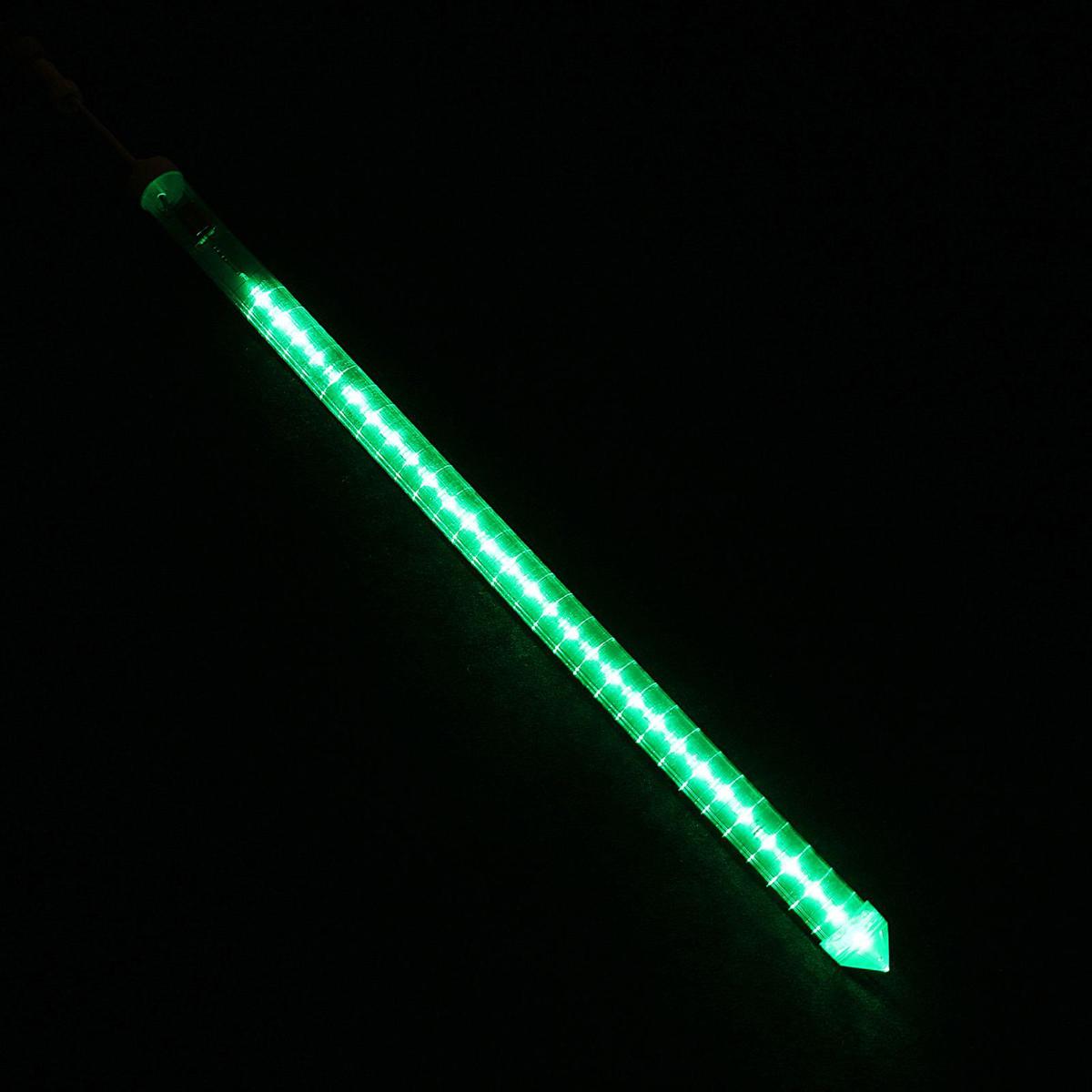 Светодиодная сосулька Luazon Тающая, длина 0,5 м, диаметр 3 см, 2W, LED 30 ламп, 220V, цвет: зеленый1080722Светодиодные гирлянды, ленты и т.д — это отличный вариант для новогоднего оформления интерьера или фасада. С их помощью помещение любого размера можно превратить в праздничный зал, а внешние элементы зданий, украшенные ими, мгновенно станут напоминать очертания сказочного дворца. Такие украшения создают ауру предвкушения чуда. Деревья, фасады, витрины, окна и арки будто специально созданы, чтобы вы украсили их светящимися нитями.