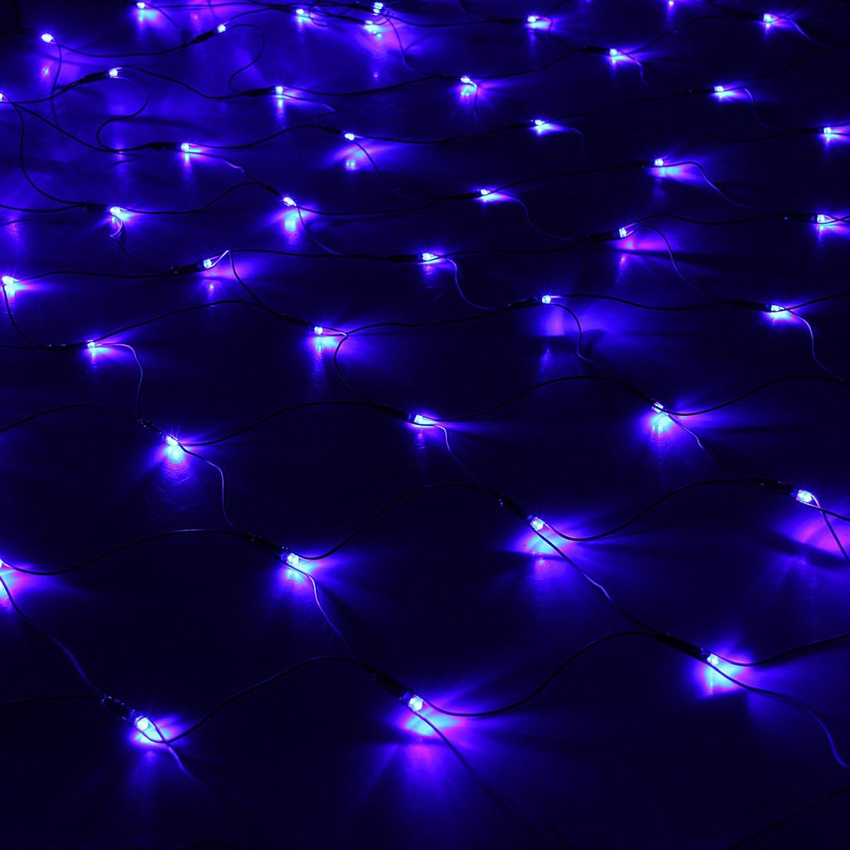 Гирлянда Luazon Сетка, длина 2 м, LED 224 лампы, 220V, цвет: синий1585754Светодиодные гирлянды, ленты и т.д — это отличный вариант для новогоднего оформления интерьера или фасада. С их помощью помещение любого размера можно превратить в праздничный зал, а внешние элементы зданий, украшенные ими, мгновенно станут напоминать очертания сказочного дворца. Такие украшения создают ауру предвкушения чуда. Деревья, фасады, витрины, окна и арки будто специально созданы, чтобы вы украсили их светящимися нитями.