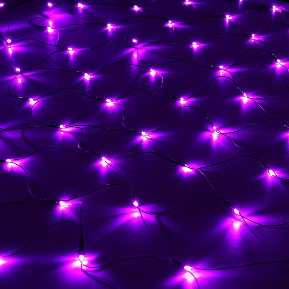 Гирлянда Luazon Сетка, длина 2 м, LED 224 лампы, 220V, цвет: фиолетовый1585755Светодиодные гирлянды, ленты и т.д — это отличный вариант для новогоднего оформления интерьера или фасада. С их помощью помещение любого размера можно превратить в праздничный зал, а внешние элементы зданий, украшенные ими, мгновенно станут напоминать очертания сказочного дворца. Такие украшения создают ауру предвкушения чуда. Деревья, фасады, витрины, окна и арки будто специально созданы, чтобы вы украсили их светящимися нитями.