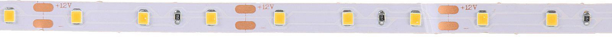 Светодиодная лента Luazon, 12В DC, 60SMD2835, длина 5 м, IP20, 6 Вт/м, цвет:  цвет белый