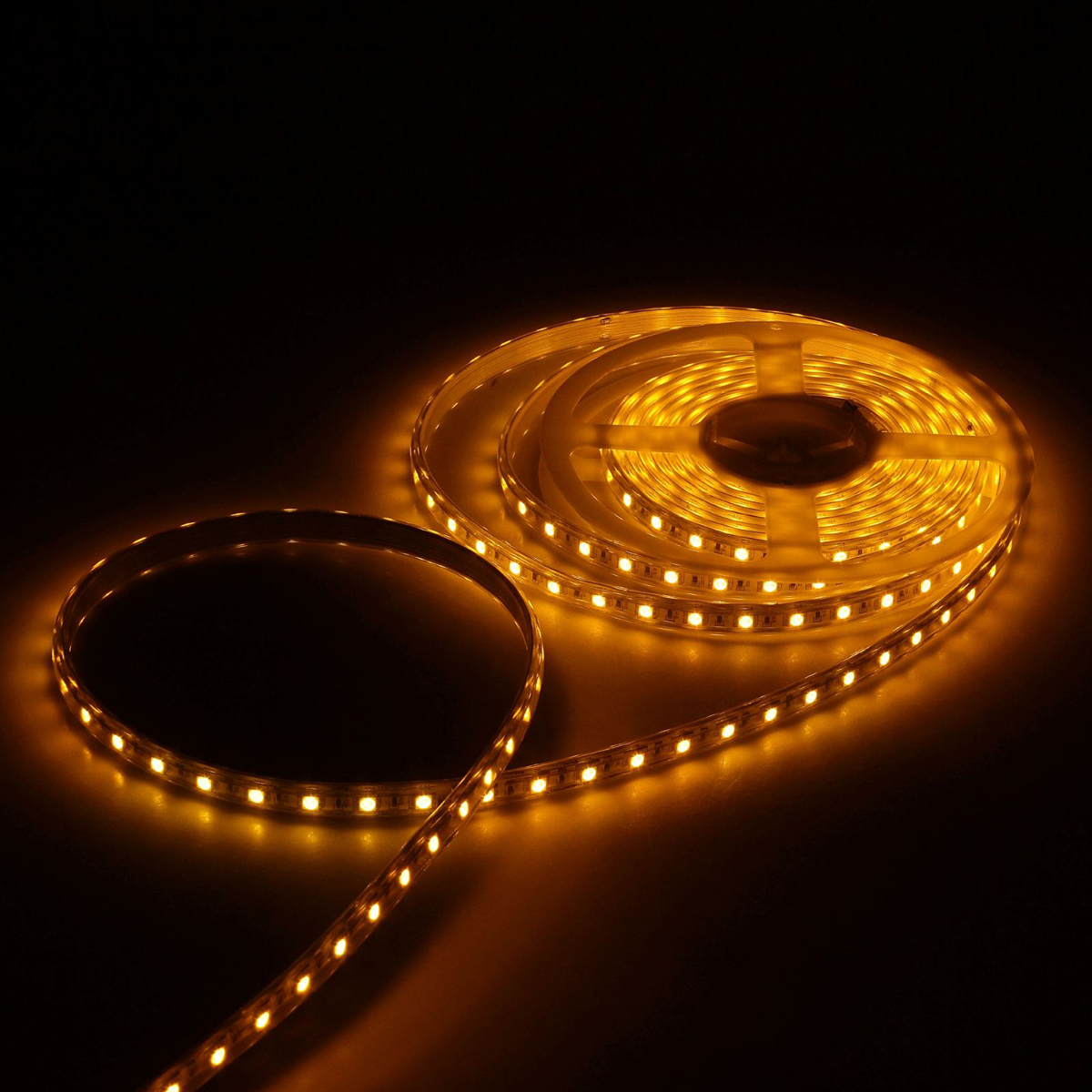 Светодиодная лента Luazon, 220В, SMD5050, длина 5 м, IP65, 60 LED ламп, 11 Вт/м, 16-18 Лм/1 LED, AC, цвет: желтый картридж cactus cs d115l black для samsung sl m2620d m2820nd m2820dw 3000 стр