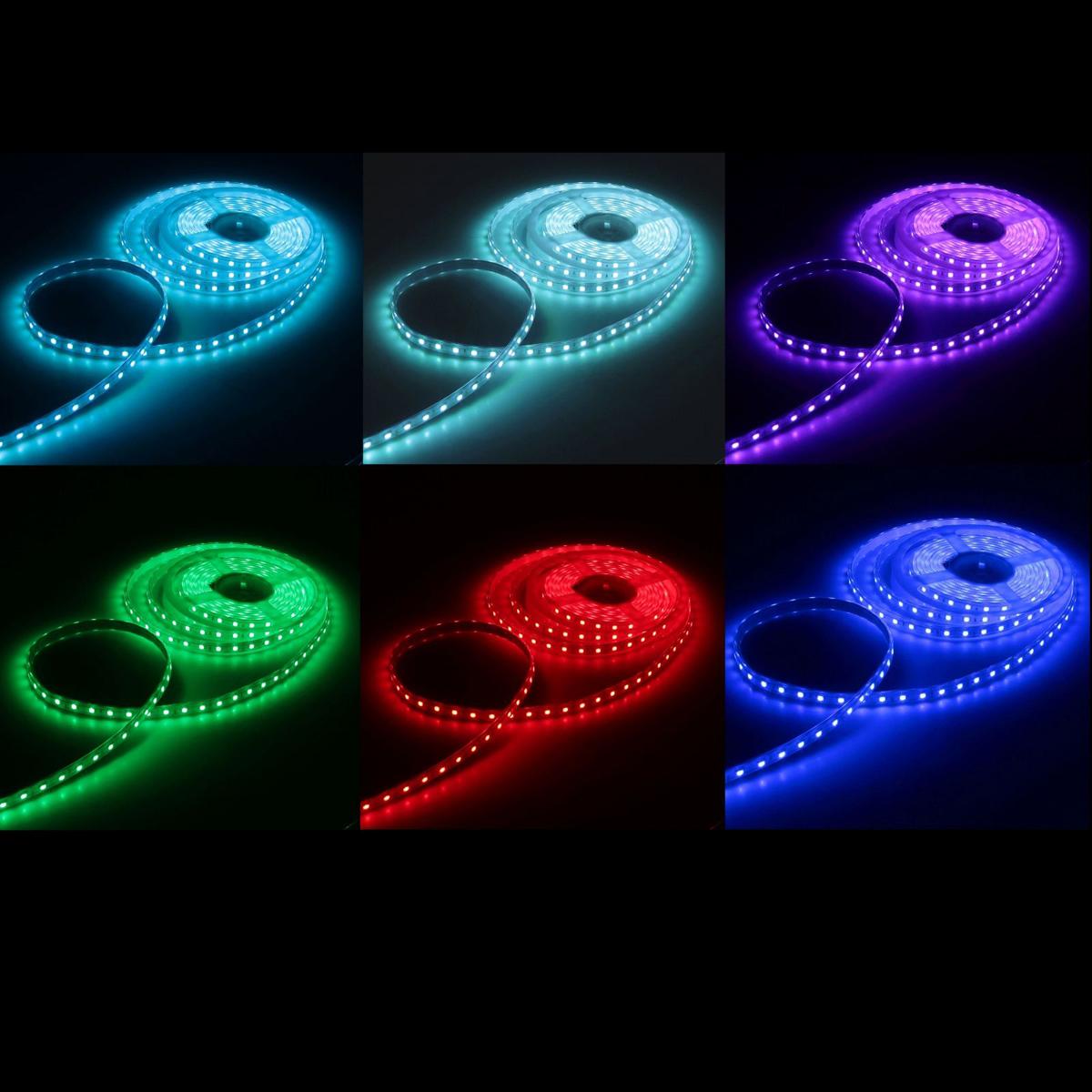 Светодиодная лента Luazon, 220В, SMD5050, длина 5 м, IP65, 60 LED ламп, 11 Вт/м,16-18 Лм/1 LED, AC, цвет: мультиколор883976Светодиодные гирлянды, ленты и т.д — это отличный вариант для новогоднего оформления интерьера или фасада. С их помощью помещение любого размера можно превратить в праздничный зал, а внешние элементы зданий, украшенные ими, мгновенно станут напоминать очертания сказочного дворца. Такие украшения создают ауру предвкушения чуда. Деревья, фасады, витрины, окна и арки будто специально созданы, чтобы вы украсили их светящимися нитями.