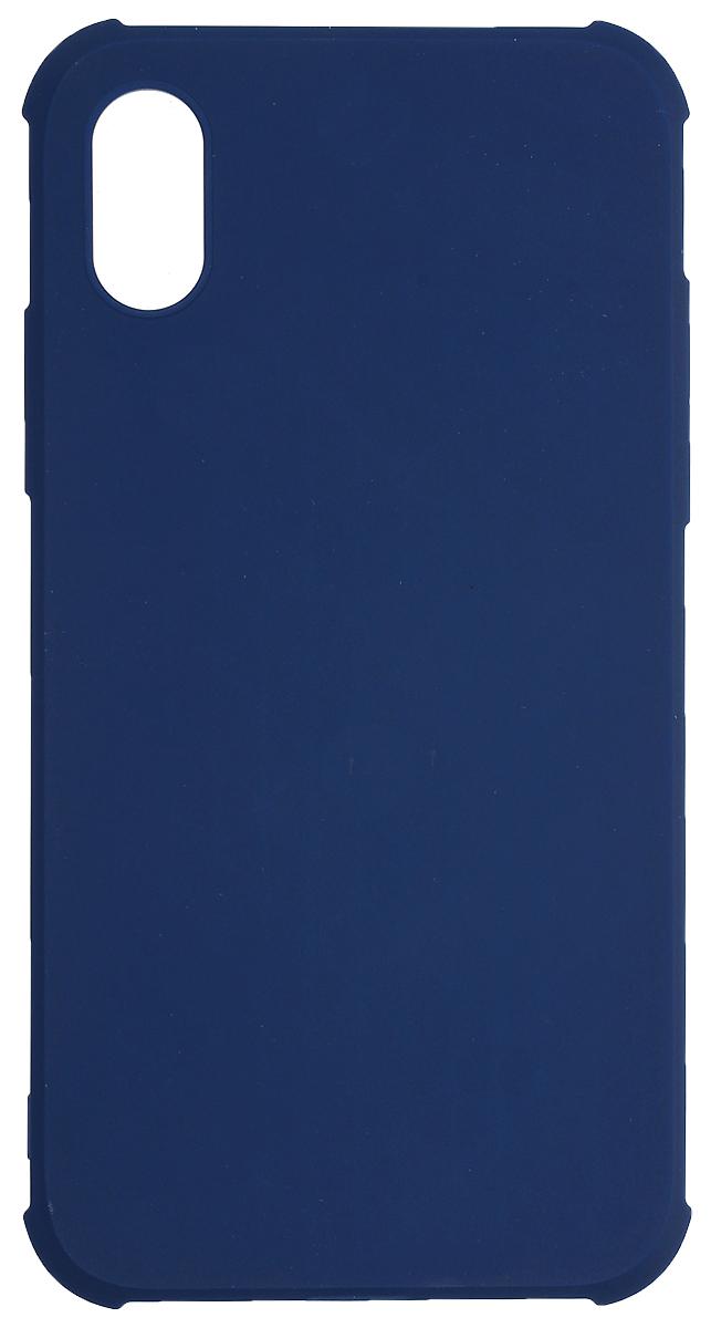 Red Line Extreme чехол для iPhone X, BlueУТ000012390Защитный чехол Red Line Extreme - это идеальное решение для защиты Apple iPhone X. Он надежно защищает смартфон от механических повреждений и придает ему неповторимую элегантность. Чехол также обеспечивает свободный доступ ко всем разъемам и клавишам устройства.