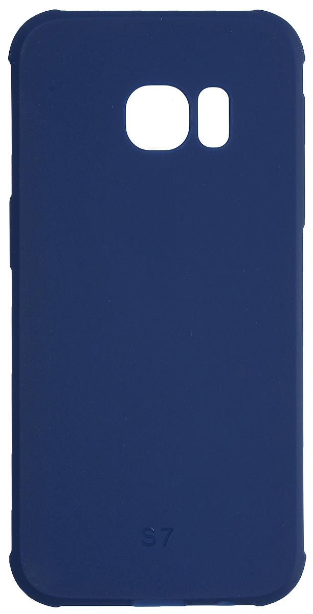 Red Line Extreme чехол для Samsung Galaxy S7, BlueУТ000012548Защитный чехол Red Line Extreme - это идеальное решение для защиты Samsung Galaxy S7. Он надежно защищает смартфон от механических повреждений и придает ему неповторимую элегантность. Чехол также обеспечивает свободный доступ ко всем разъемам и клавишам устройства.
