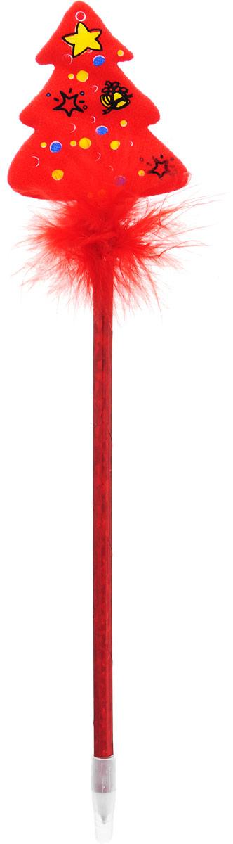 Sima-land Ручка Ёлка 23794272379427Шариковая ручка с тематическим принтом станет отличным презентом в новогодние праздники! Для взрослых это будет оригинальное украшение рабочего стола и приятное напоминание о человеке, который преподнёс такой сувенир.А маленьких деток привлечёт красочный дизайн — за уроки они будут браться с энтузиазмом. Наконечник в форме различных фигурок подарит улыбки и море позитива — такой зимний атрибут просто не захочется выпускать из рук!