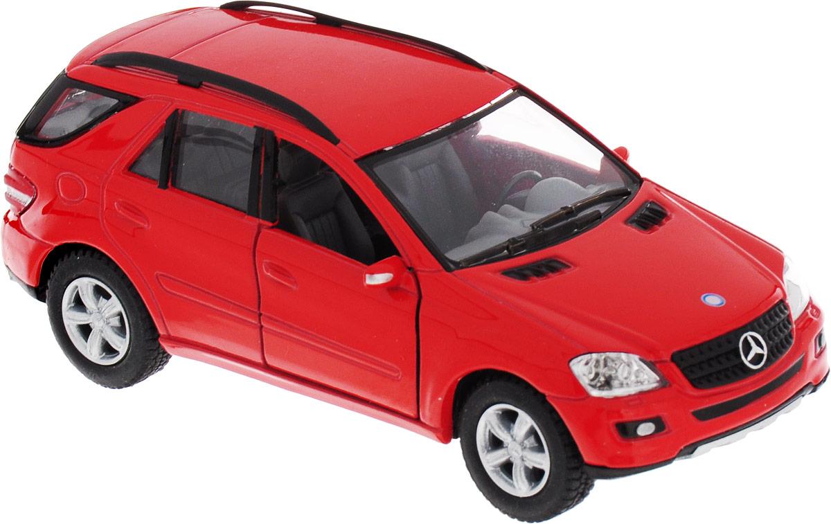 Kinsmart Модель автомобиля Mercedes-Benz ML-Class цвет красный mercedes а 160 с пробегом
