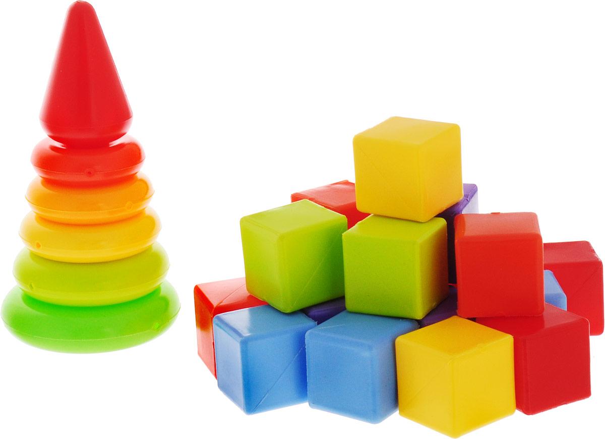 РосИгрушка Набор развивающий Малютка игрушки для зимы росигрушка песочный набор транспорт 3 л дорожный патруль