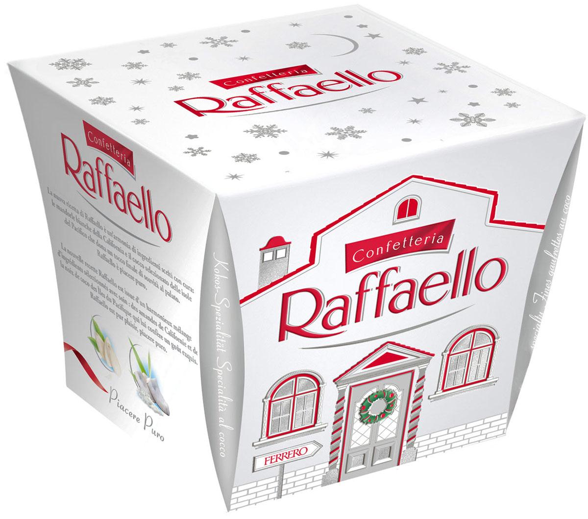 Raffaello конфеты с цельным миндальным орехом в кокосовой обсыпке, 150 г
