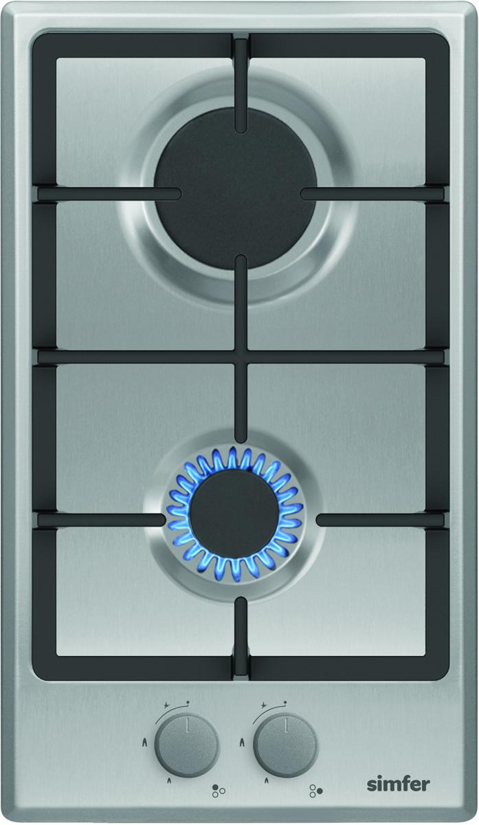 Simfer H30V20M511 панель варочная газовая - Варочные панели