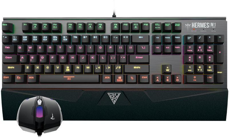 Gamdias Hermes M1 Combo, Black комплект игровая мышь + клавиатура terre d hermes m per 75 мл