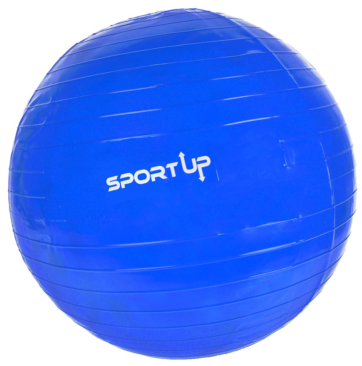 Фитбол Sport UP, цвет: голубой, диаметр 75 смIR97402/75Фитбол Sport UP, изготовленный из полимерных материалов, идеально подходит для упражнений на растяжку, укрепляющих и тонизирующих упражнений. Благодаря легкому массажному эффекту улучшает циркуляцию крови.Не важно новичок вы или опытный спортсмен, фитбол позволяет повысить эффективность ваших тренировок.Насос в комплекте.Максимальный вес пользователя: 100 кг.Максимальная статическая нагрузка: 250 кг.