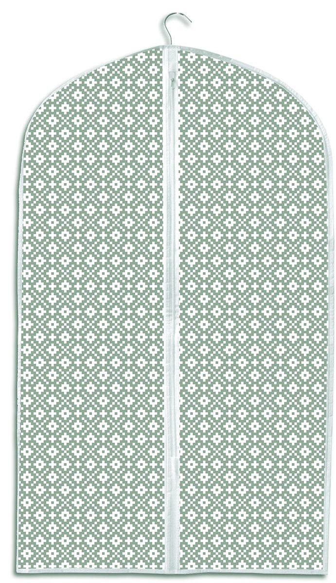 Чехол для хранения одежды Ева Этника, на молнии, 60 х 95 см чехол для хранения одежды eva цвет синий 60 х 92 см