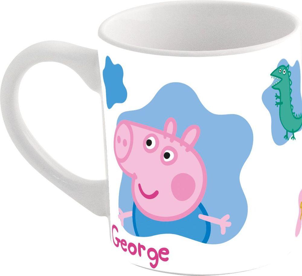 Stor Кружка детская Свинка Пеппа 325 мл набор посуды для детей stor свинка пеппа