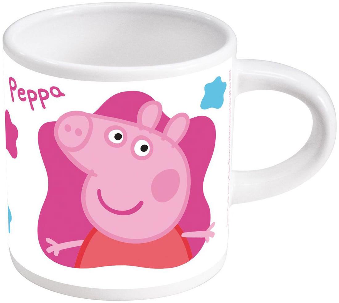 Stor Кружка детская Свинка Пеппа 220 мл набор посуды для детей stor свинка пеппа