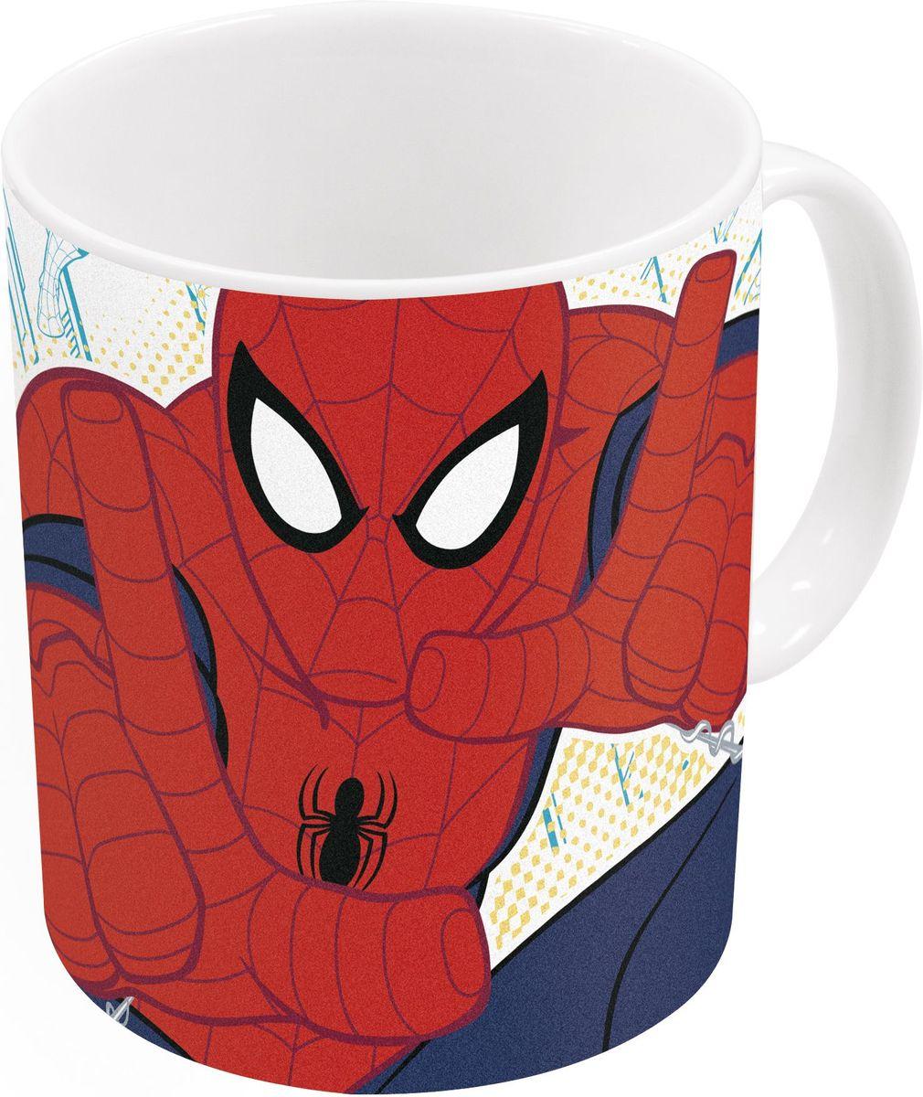 Stor Кружка детская Великий Человек-паук 325 мл78317Детская кружка Stor Великий Человек-паук станет отличным подарком длявашегоребенка. Она выполнена из керамики и дополнена удобной ручкой. Такой подарок станет не только приятным, но и практичным сувениром:кружка будет незаменимым атрибутом чаепития, а оригинальное оформлениекружки добавит ярких эмоций и хорошего настроения. Можно использовать в СВЧ-печи и посудомоечной машине.