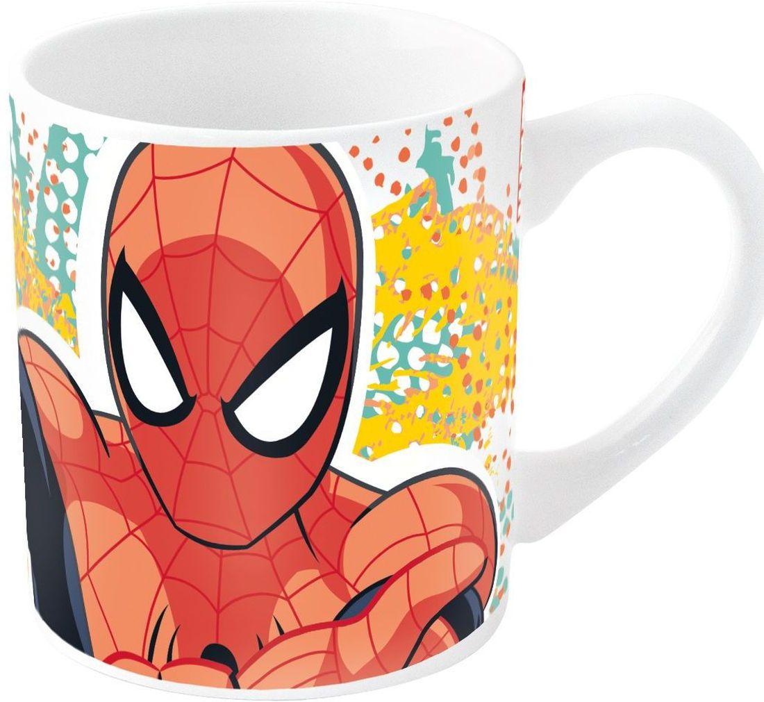 Stor Кружка детская Великий Человек-паук 220 мл78316Детская кружка Stor Великий Человек-паук станет отличным подарком для вашего ребенка. Она выполнена из керамики и дополнена удобной ручкой.Такой подарок станет не только приятным, но и практичным сувениром: кружка будет незаменимым атрибутом чаепития, а оригинальное оформление кружки добавит ярких эмоций и хорошего настроения.Можно использовать в СВЧ-печи и посудомоечной машине.