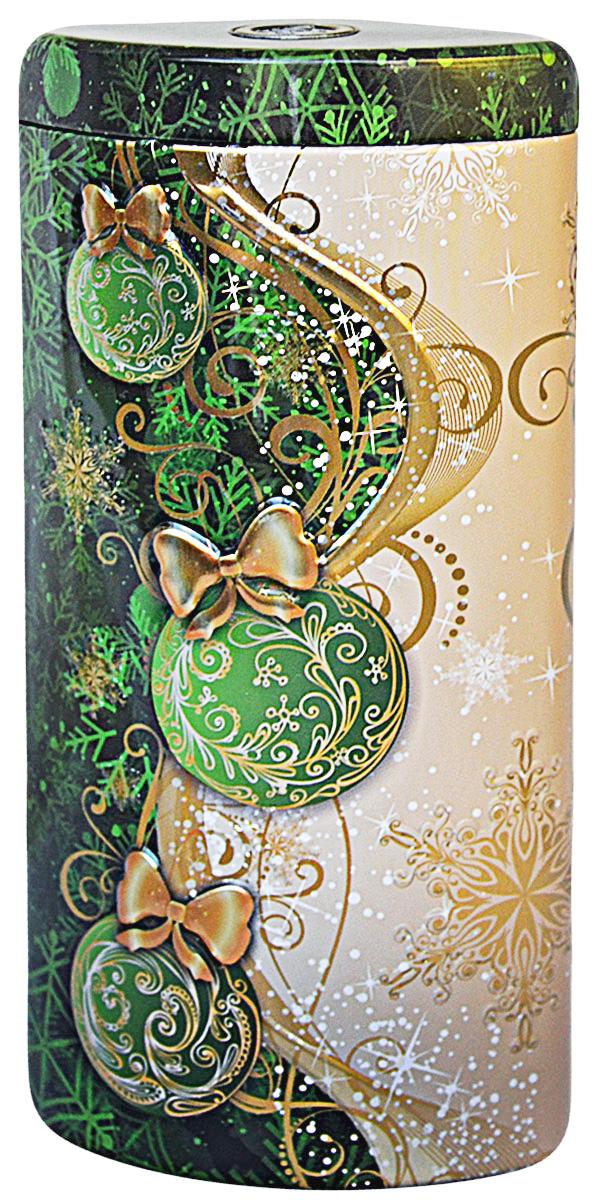 Избранное из моря чая Коллекция Долька. Новогодние шары. Зеленая чай черный листовой, 50 г4791029015538ТМ «ИЗБРАННОЕ ИЗ МОРЯ ЧАЯ», коллекция Долька - Новогодние шары (зеленая), жестяная банка в форме дольки с элементами конгрева, покрыта глянцевым и матовым лаком. Производитель: Mabroc Teas, Шри-Ланка, Состав: 100% цейлонский черный чай. Стандарт ОРАВсё о чае: сорта, факты, советы по выбору и употреблению. Статья OZON Гид