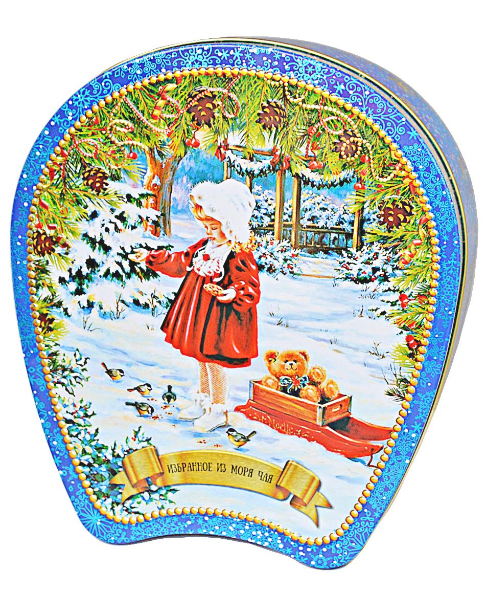 Избранное из моря чая Коллекция Подкова. Девочка с птицами чай черный листовой, 75 г часы festina festina fe023dmrzg42