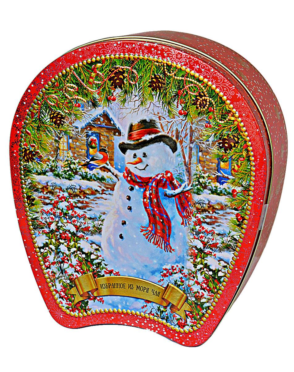 Избранное из моря чая Коллекция Подкова. Снеговик чай черный листовой, 75 г таймлайн избранное