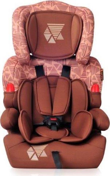 Lorelli Автокресло Kiddy от 9 до 36 кг цвет коричневый бежевый