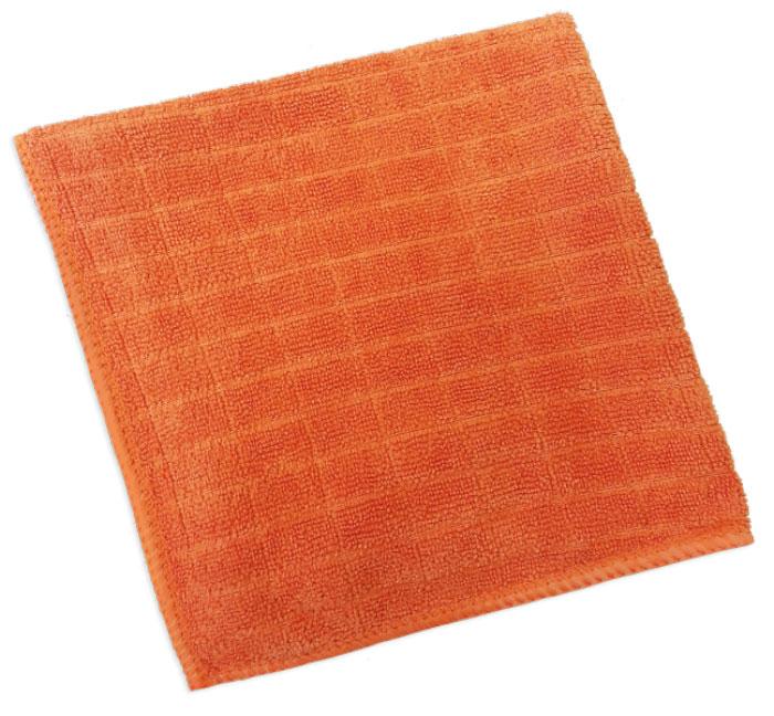 Салфетка для полировки Хозяюшка Мила, 30 см х 30 см04004Салфетка для полировки Хозяюшка Мила выполнена из микрофибры. Микрофибра – уникальный, прочный, новаторский, гипоаллергенный материал. Сложная структура волокна состоит из двух синтетических волокон: внешняя поверхность – полиэстер (20%) и внутренняя часть – полиамид (80%). Особая структура волокон позволяет буквально втягивать все виды частиц пыли внутрь волокна, надёжно удерживая её. Микрофибра устраняет микробы и бактерии с поверхности. Салфетка предназначена для полировки любых поверхностей: ламинированной, деревянной, кожаной мебели, хромированных и металлических поверхностей, стёкол и зеркал. Не оставляет разводов и ворсинок, прекрасно впитывает влагу, делает поверхность блестящей, как после применения полирующих средств.Размер салфетки: 30 см х 30 см.