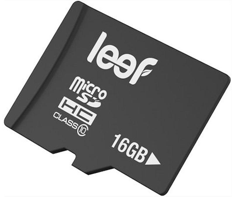 Leef microSDHC Class 10 16GB карта памятиLFMSD-01610RКомпактная и универсальная карта памяти Leef microSDHC позволяет надежно хранить фотографии, музыку, фильмы и любую другую информацию. Она выпускается в вариантах с различной емкостью и идеально подходит для планшетных ПК и смартфонов. Вся продукция Leef водонепроницаемая, ударопрочная, имеет пылезащищенный корпус и устойчива к работе в экстремальных температурных условиях.