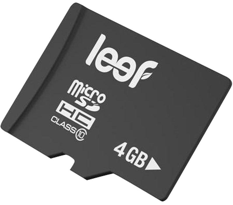 Leef microSDHC Class 10 4GB карта памятиLFMSD-00410RКомпактная и универсальная карта памяти Leef microSDHC Class 10 позволяет надежно хранить фотографии, музыку, фильмы и любую другую информацию. Она выпускается в вариантах с различной емкостью и идеально подходит для планшетных ПК и смартфонов. Более того, карты памяти Leef имеют водонепроницаемое исполнение, поэтому вы не потеряете ваши важные данные, даже если водонепроницаемый кейс смартфона окажется негерметичным. Вся продукция Leef водонепроницаемая, ударопрочная, имеет пылезащищенный корпус и устойчива к работе в экстремальных температурных условиях.