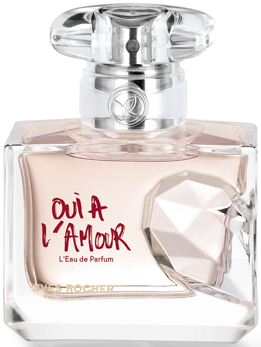Yves Rocher парфюмерная вода Oui A Lamour, 30 мл07861Аромат «Oui a l'Amour» – настоящий манифест смелости и страсти! Дерзкий, противоречивый и бесконечно соблазнительный, он покоряет с первого вдоха. Поддайтесь очарованию юности, наслаждайтесь моментом, живите здесь и сейчас, откройте Ваше сердце для любви!Яркая цветочно-восточная композиция – удивительное сочетание искрящейся свежести и волнующей чувственности. Пикантные аккорды Ангелики усиливают нежное и бесконечно женственное звучание Розы. Этот букет окутан сладостной теплотой абсолюта бобов Тонка в сочетании с элегантной древесной нотой Кедра. Парфюмерная вода «Oui a l'Amour» – обещание вечной любви.Краткий гид по парфюмерии: виды, ноты, ароматы, советы по выбору. Статья OZON Гид