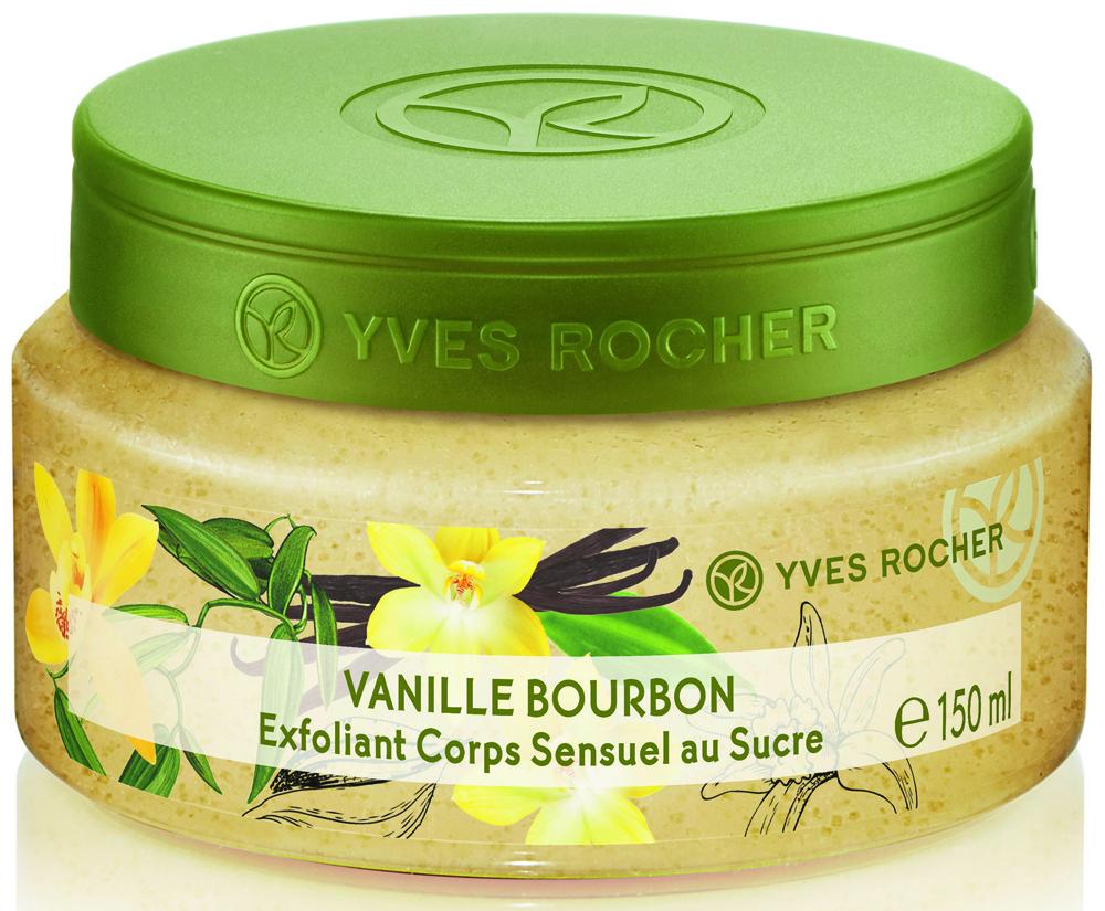 Yves Rocher эксфолиант для тела Бурбонская ваниль, 150 мл yves rocher восточный эксфолиант для тела с пудрой косточек аргании 150 мл