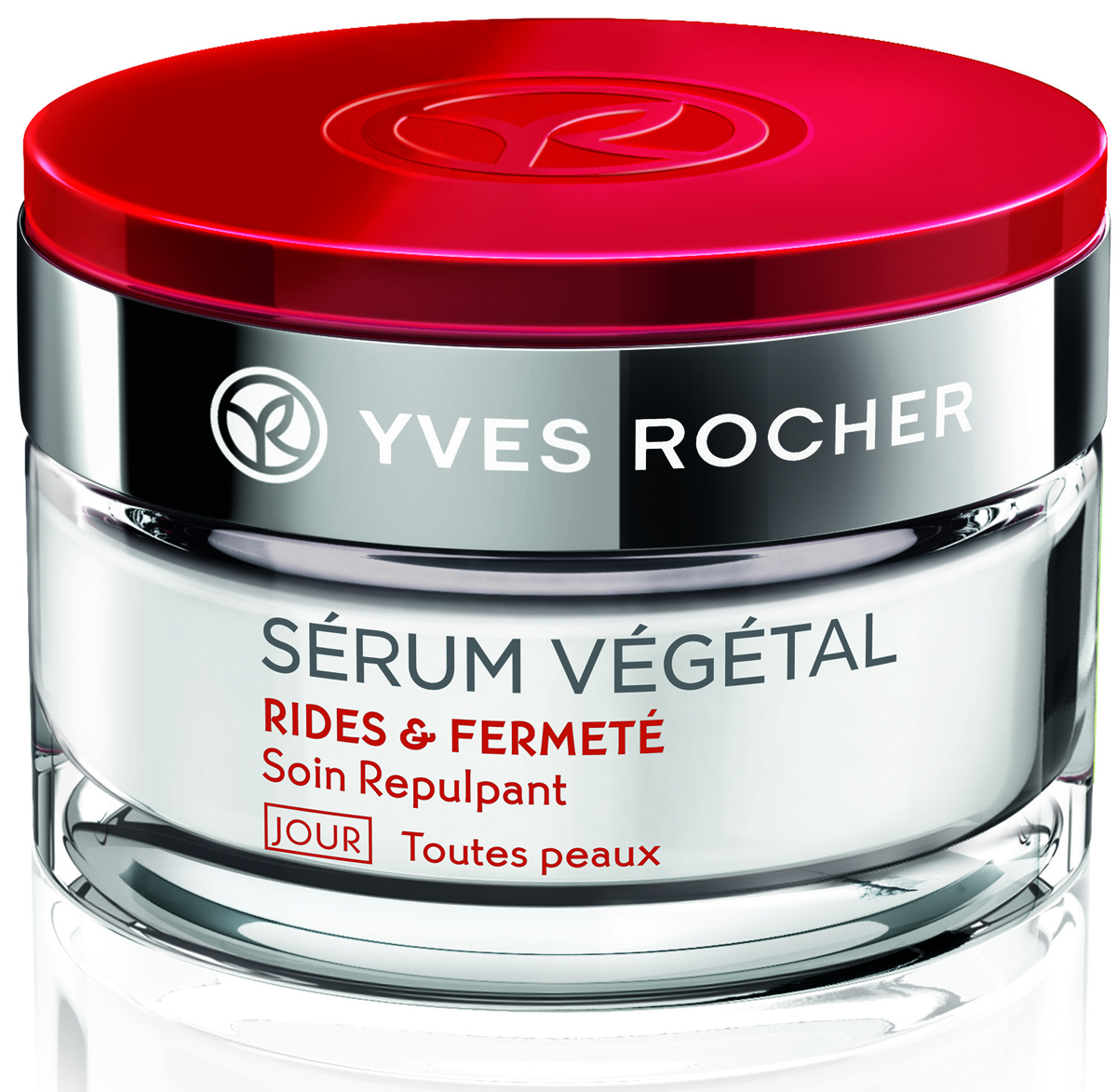 Yves Rocher дневной уход от морщин и для плотности кожи, все типы кожи, 50 мл27692Вы ищете дневной крем от морщин' потому что у Вас: - заметные морщины. - нехватка упругости.Дневной Уход от Морщин & для Плотности Кожи - Все типы кожи' обогащенный экстрактом Растения Жизни: Мезембриантемум кристаллинум' подходит именно Вам.Экстракт Растения Жизни: Мезембриантемум кристаллинум' активизируя выработку протеина mTOR в коже*' стимулирует механизмы борьбы с морщинами на клеточном уровне. В состав формулы также входит камедь Акации' которая возобновляет синтез коллагена и гиалуроновой кислоты* для восстановления упругости и плотности кожи изнутри. День за днем глубина даже самых заметных морщин сокращается.Через 1 месяц кожа становится более упругой и более плотной у 82% Женщин**.Уход с насыщенной текстурой увлажняет кожу в течение всего дня.Протестировано под контролем дерматологов.