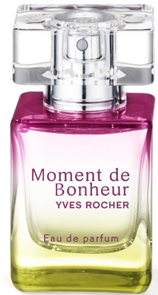 Yves Rocher парфюмерная вода Момент счастья, 30 мл33264Излучайте счастье' женственность и уверенность в себе с ярким' свежим' зеленым' цветочным ароматом Розы.Растительное сырье: Эссенция Герани Абсолют Розы Центифолия Эссенция КедраКраткий гид по парфюмерии: виды, ноты, ароматы, советы по выбору. Статья OZON Гид