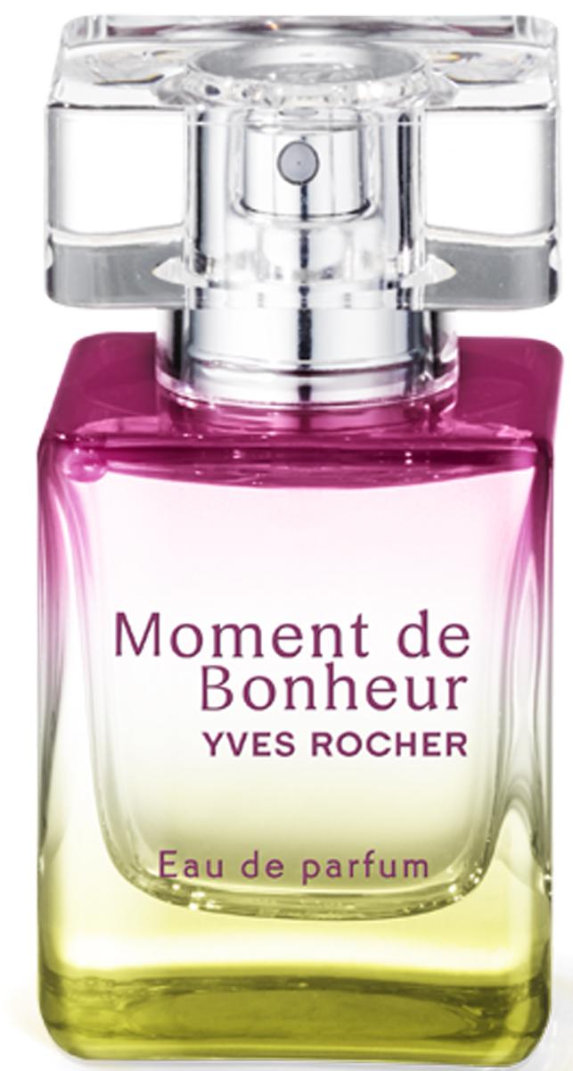 Yves Rocher парфюмерная вода Момент счастья, 30 мл питательная ароматическая эссенция 15 мл decleor decleor mp002xw0iufk